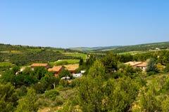 Landschaft Languedoc Stockbild