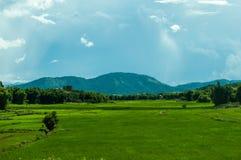 Landschaft in Laos Lizenzfreies Stockbild