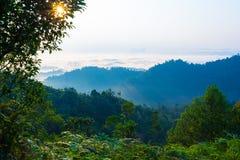Landschaft in Lembing Lizenzfreies Stockfoto