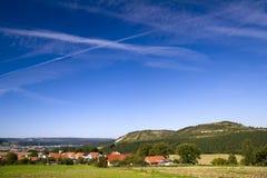 Landschaft Lindig Stockfoto
