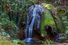 Landschaft an marmore ` s Wasserfall Stockfotografie