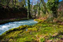 Landschaft an marmore ` s Wasserfall Lizenzfreie Stockfotografie