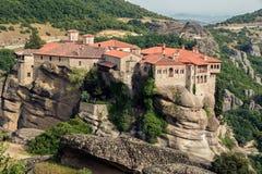 Landschaft Meteora Griechenland Lizenzfreie Stockbilder