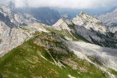 Landschaft mit Bergen Stockfoto
