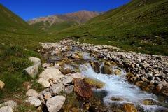 Landschaft mit dem Fluss Stockfotografie