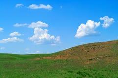 Landschaft mit Hügeln lizenzfreies stockfoto