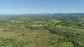 Landschaft mit Reisterrassenfeld Philippinen, Luzon Stockbild