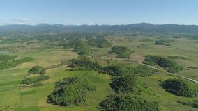 Landschaft mit Reisterrassenfeld Philippinen, Luzon Lizenzfreies Stockbild