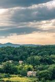 Landschaft mit schöner Aussicht stockfotos