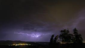 Landschaft mit Sturm Lizenzfreie Stockfotografie
