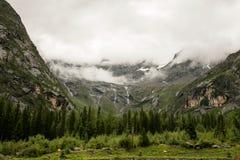 Landschaft Mt Siguniang in Sichuan, China Lizenzfreie Stockfotos