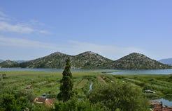 Landschaft nahe Blace Lizenzfreies Stockfoto