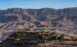 Landschaft nahe Lalibela, Äthiopien, Afrika lizenzfreies stockbild