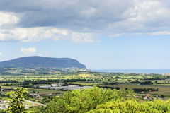 Landschaft nahe Loreto Lizenzfreies Stockfoto