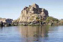 Landschaft nahe Philae Lizenzfreie Stockfotografie