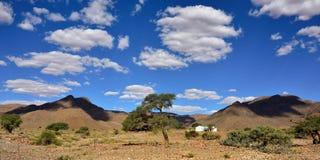 Landschaft Namibischer Wüste, Namibia Stockfotografie
