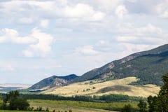 Landschaft an Nationalpark Burabay, Kasachstan Stockbild