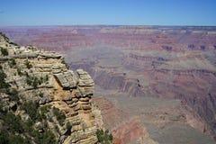 Landschaft am Nationalpark des Grand Canyon lizenzfreies stockfoto