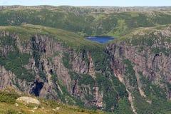 Landschaft Nationalparks des Gros-Morne Lizenzfreie Stockbilder