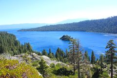 Landschaft Nationalparks Lake Tahoe Stockbilder