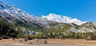 Landschaft in Nepal/in Himalaja im Sommer stockfotografie