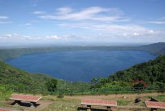 Landschaft in Nicaragua Stockfotos