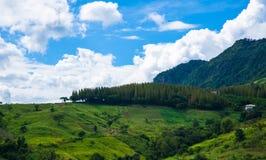 Landschaft Nord-Thailand Lizenzfreies Stockbild