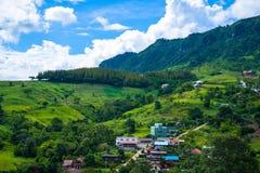 Landschaft Nord-Thailand Stockbild