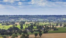 Landschaft in Normandie Lizenzfreie Stockfotos