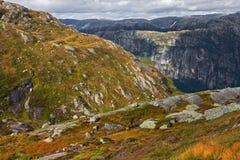 Landschaft in Norwegen Stockfotografie