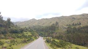 Landschaft-paisaje carretera Stockbild