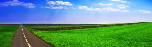 Landschaft panoramische 4 Stockfotografie