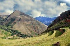 Landschaft in Peru Lizenzfreies Stockfoto