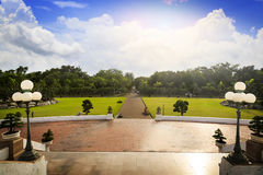 Landschaft am phutthamonthon Stockfotos