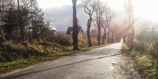 Landschaft in Polen Lizenzfreies Stockfoto