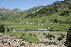 Landschaft in Pyrenees Lizenzfreie Stockbilder