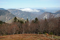 Landschaft in Pyrenees stockfoto