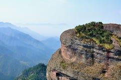 Landschaft Quzhous Jianglangshan Stockfotografie