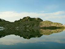 landschaft Reflexionen stockfotografie