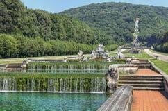 Landschaft-reggia Di Caserta Stockbild