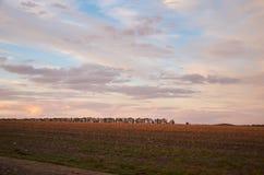 landschaft reisen Ansicht der Felder lizenzfreie stockfotografie