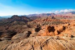 Landschaft in See MeadNational-Erholungsgebiet, USA Stockbild