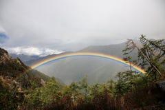 Landschaft Sichuans Daocheng Aden Lizenzfreie Stockfotos