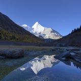 Landschaft Sichuans Daocheng Aden Stockfotos