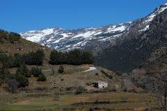 Landschaft, Sierra Nevada, Andalusien, Spanien. Lizenzfreie Stockfotografie