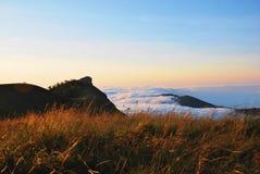 Landschaft, Sonnenaufgänge stockfoto