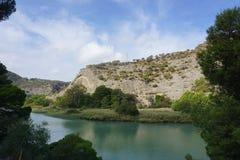 Landschaft in Spanien Lizenzfreies Stockbild