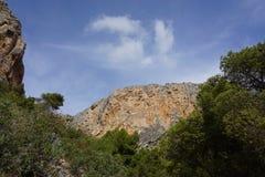 Landschaft in Spanien Lizenzfreies Stockfoto