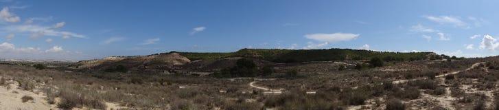 Landschaft in Spanien stockbild