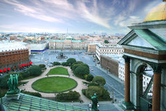 Landschaft in St Petersburg Stockfoto